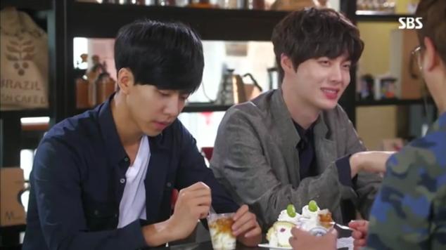 teasing Dae-gu as a pass time :P