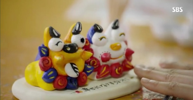 cute clay animals