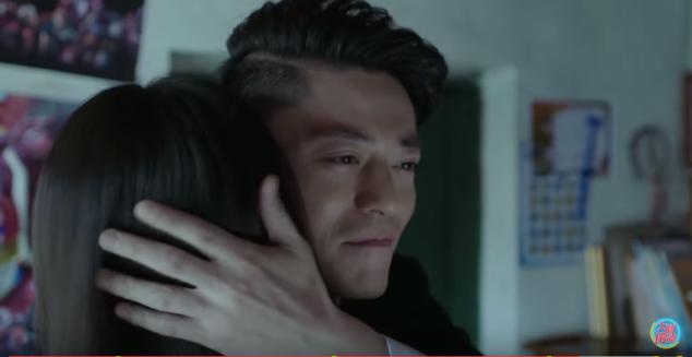 a hug as a reward for a job well done